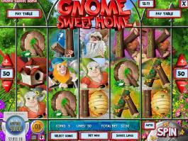 Zahrajte si casino automat Gnome Sweet Home