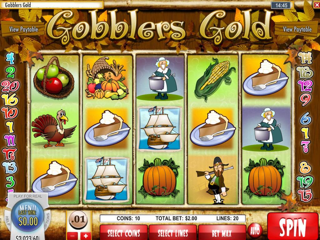Casino automat Gobblers Gold bez registrace