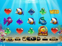 Online casino automat Golden Fish Tank bez registrace