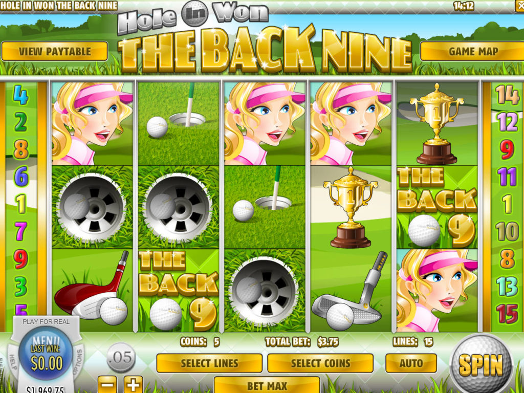 Online casino automat Hole in Won: The Back Nine zdarma