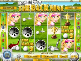 Online casino automat Hole in Won: The Back Nine zdarma