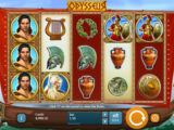 Roztočte online casino automat Odysseus bez vkladu