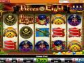 -- Obrázek casino automatu Pieces of Eight online