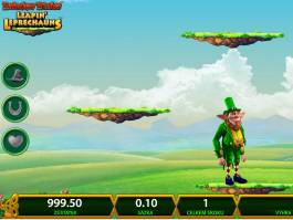 Online herní automat Rainbow Riches Leapin' Leprechauns zdarma
