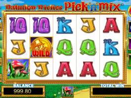 Obrázek z herního automatu Raibow Riches Pick'n'Mix zdarma