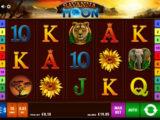 Obrázek z online casino automatu Savanna Moon zdarma