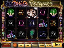 Obrázek z online casino automatu Wild Wizards zdarma