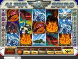 Online herní automat Alpha Squad od vývojářské společnosti Saucify