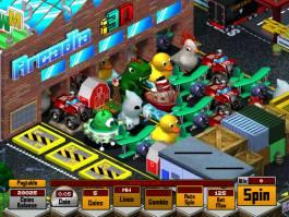 Zahrajte si online casino automatu Arcadia i3D