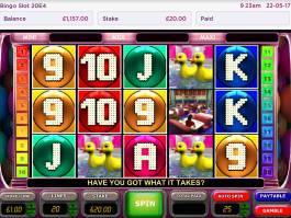 Online herní automat Bingo Slot bez stahování