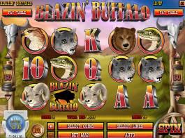 Zábavný herní automat Blazin' Buffalo zdarma