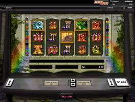 Herní automat Chasing Rainbows online, bez stahování