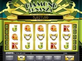 Casino automat Diamond Bonanza online, bez stahování