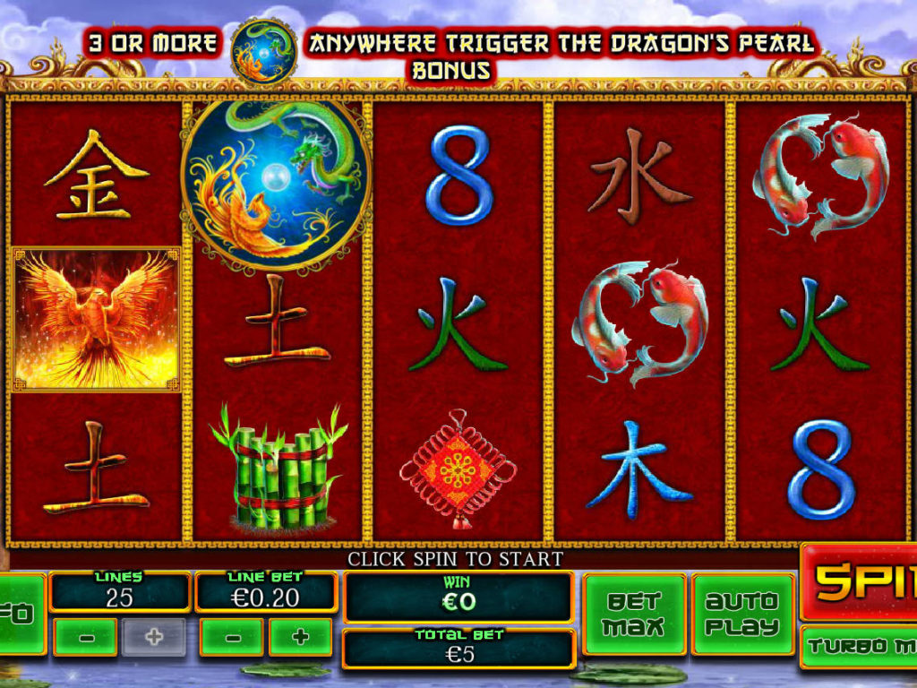 Obrázek z online herního automatu Fei Long Zai Tian