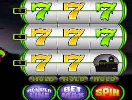 Roztočte válce online casino automatu Ghouls Gold