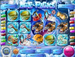 Roztočte casino automat Ice Picks online