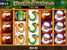 Online casino automat Jingle Jackpot bez registrace