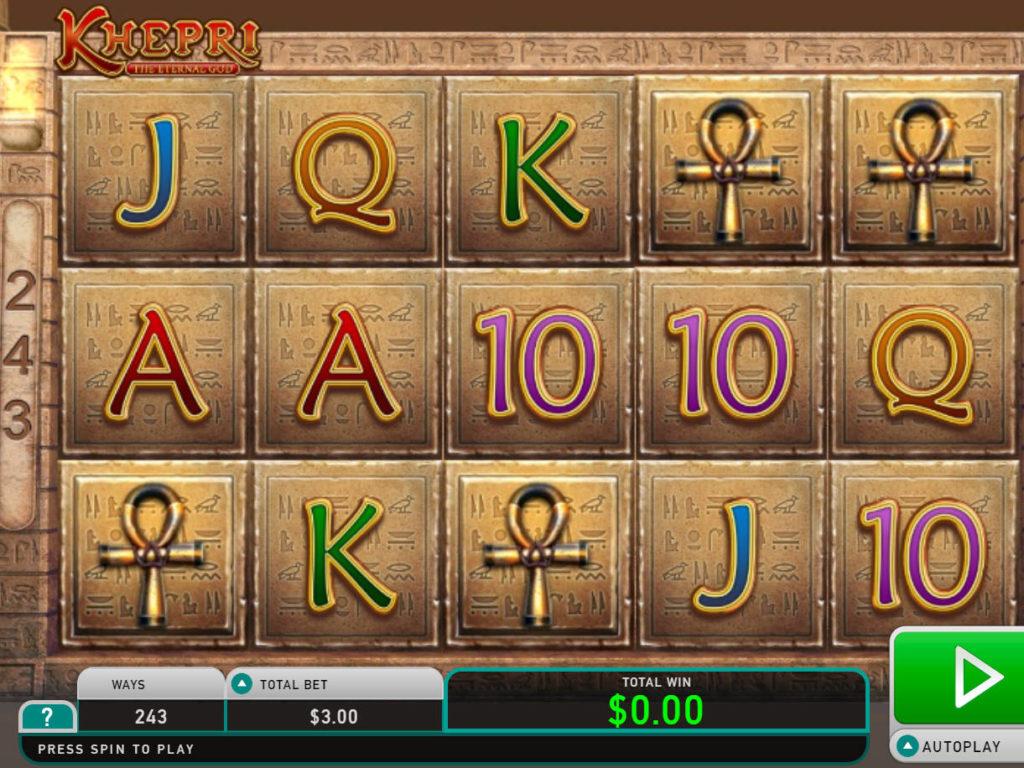 Casino automat Khepri the Eternal God bez registrace