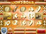 Obrázek z casino automatu Lion's Roar