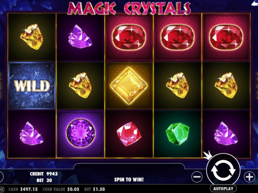 Casino automat Magic Crystals zdarma