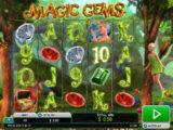 Online herní automat Magic Gems zdarma
