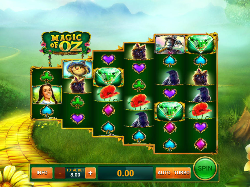 Zahrajte si casino automat Magic of Oz zdarma