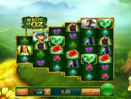 Zahrajte si casino automat Magic of Oz zdarma