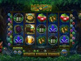 Online casino automat Magic Pot bez vkladu