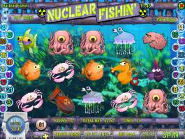 Nuclear Fishin' online automat zdarma