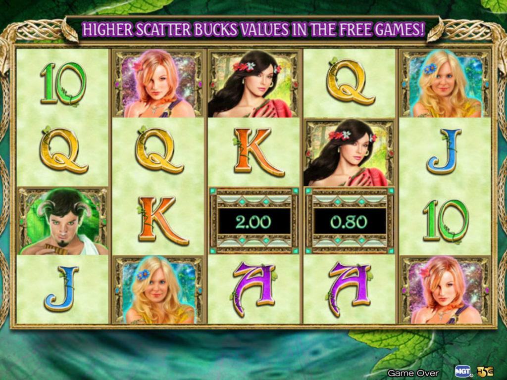 Casino automat Ancient Arcadia zdarma