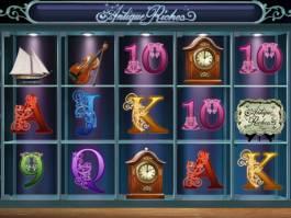 Roztočte casino automat Antique Riches zdarma