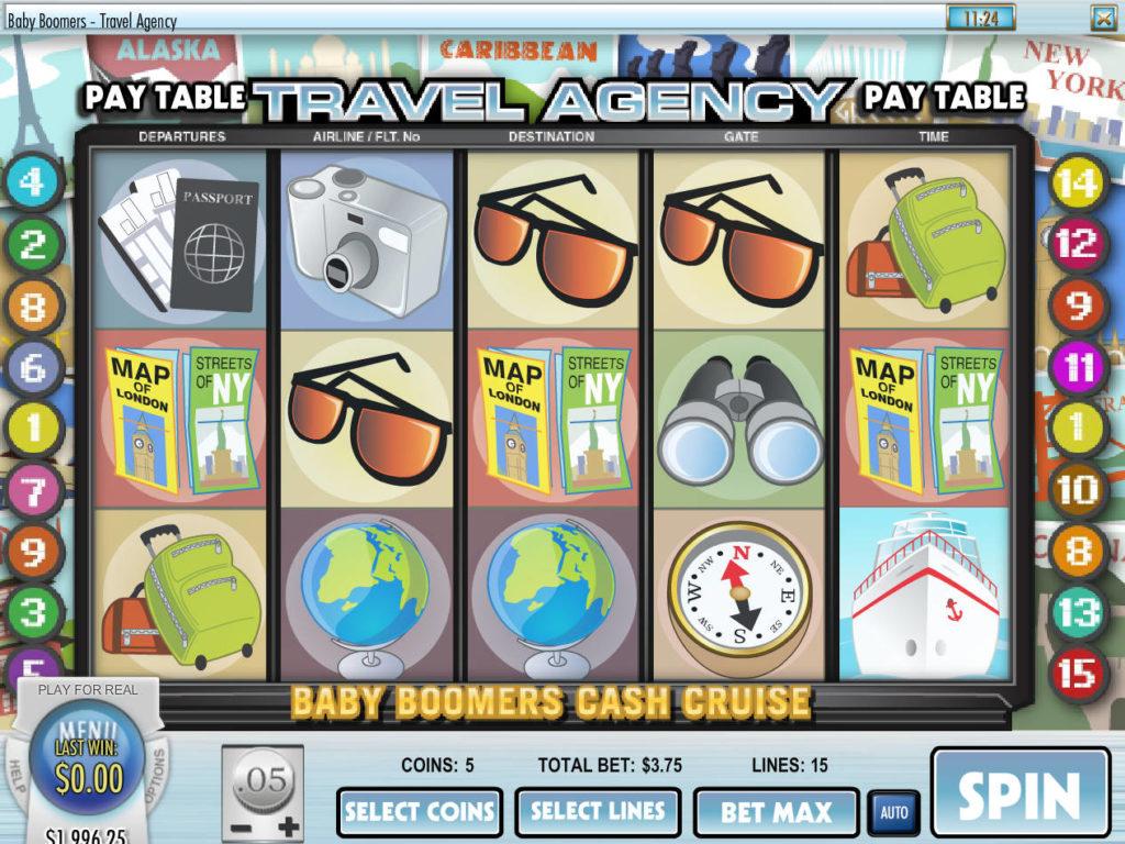 Casino automat Baby Boomers Cash Cruise