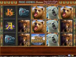 Online casino automat Bear Mountain bez stahování
