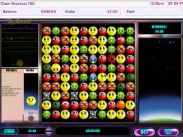 Zahrajte si online casino automat Chain Reactors 100 zdarma