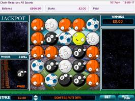 Online herní automat Chain Reactors All Sports