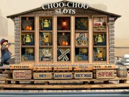 Online casino automat Choo-Choo Slots zdarma