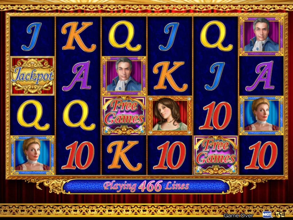 Online herní automat Figaro bez vkladu
