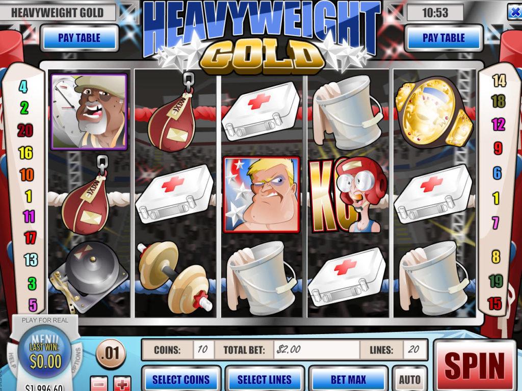 Casino automat Heavyweight Gold zdarma