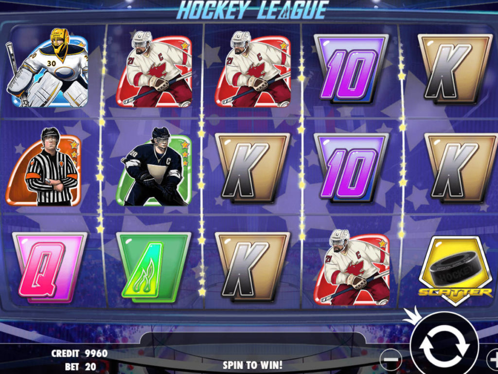 Zahrajte si zábavný herní automat Hockey League zdarma