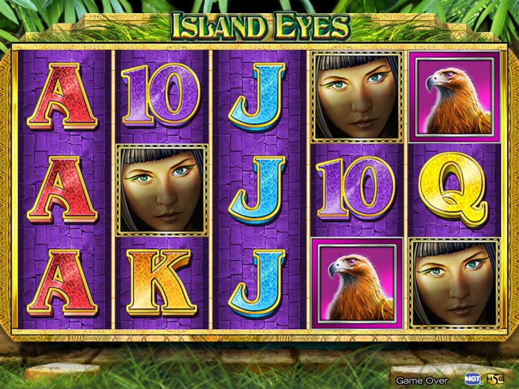 Casino automat Island Eyes zdarma