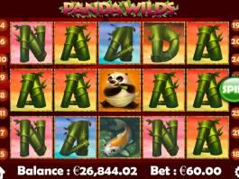 Online casino automat Panda Wilds bez stahování