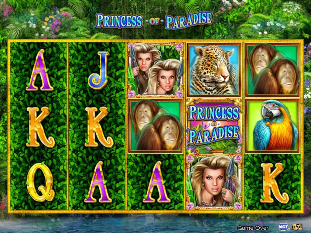 Casino automat Princess of Paradise zdarma, bez registrace