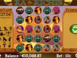 Roztočte válce casino automatu Ra to Riches zdarma