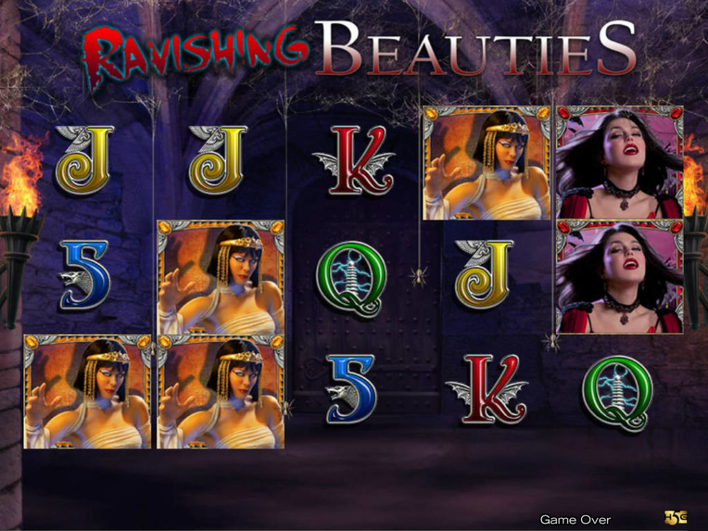 Casino automat Ravishing Beauties bez registrace