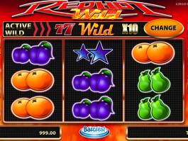 Roztočte casino automat Red Hot Wild online