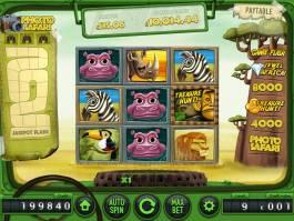 Online casino automat Safari zdarma