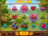 Zábavný online casino automat Seasons zdarma