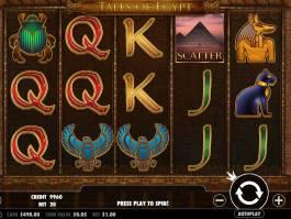 Obrázek casino automatu Tales of Egypt