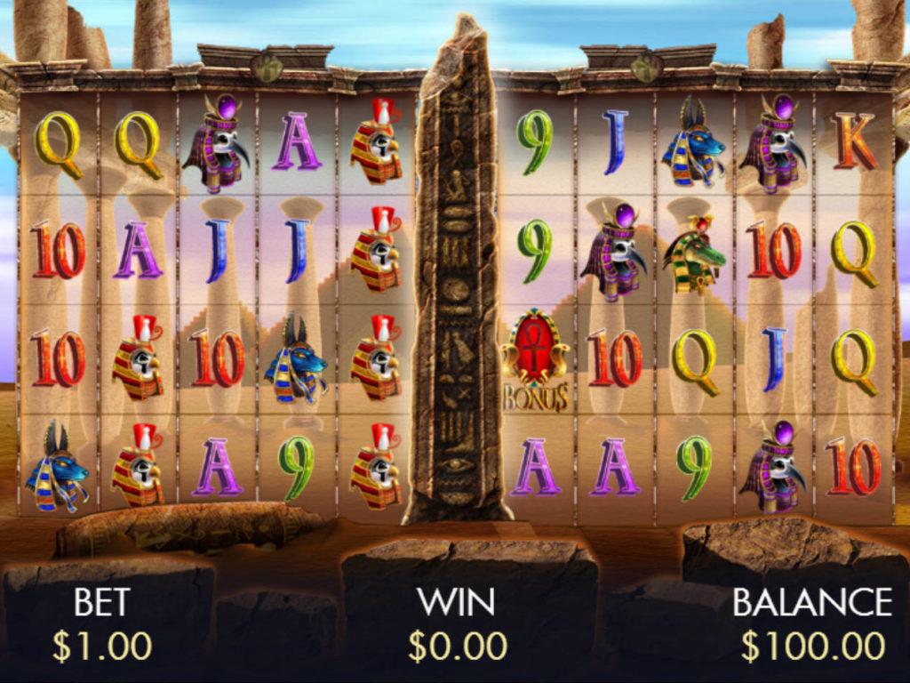 Online casino automat Temple of Luxor zdarma