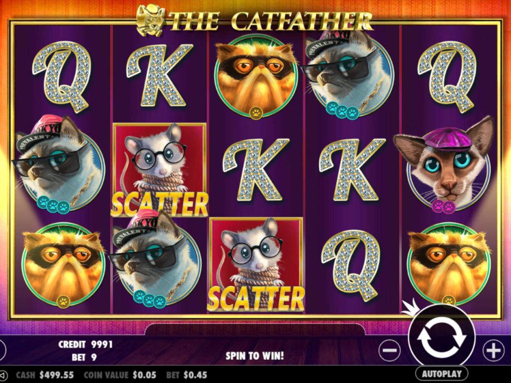 Casino automat The Catfather